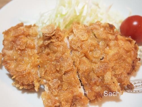 strawberryカリカリチキン ささみのコーンフレーク揚げ 栗原はるみレシピ.JPG