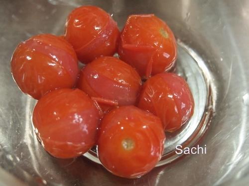 strawberry冷凍プチトマト4冷凍プチトマトのめんつゆ漬け.JPG