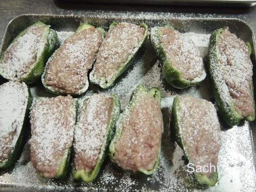 strawberry肉詰めピーマン行程b大分産ピーマン肉詰めピーマン.JPG